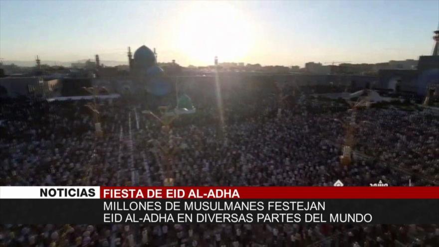 Fiesta de Eid al-Adha. Atrocidades israelíes. Londres apoya al terrorismo - Noticias Exprés: 19:30 - 21/07/2021