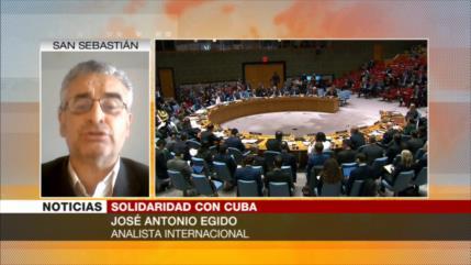 Egido: Solidaridad de cubanos impedirá liquidación de su Revolución
