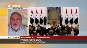 Jofré Leal: Reino Unido avala a grupos terroristas en Siria