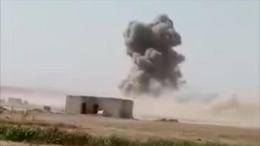 Vídeo: 3 civiles muertos, saldo de nuevo bombardeo de EEUU en Siria