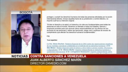 Sánchez Marín: EEUU somete a pueblos y actúa como matón de barrio