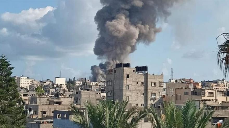 Vídeo: Un muerto y 10 heridos en explosión en el mercado de Gaza