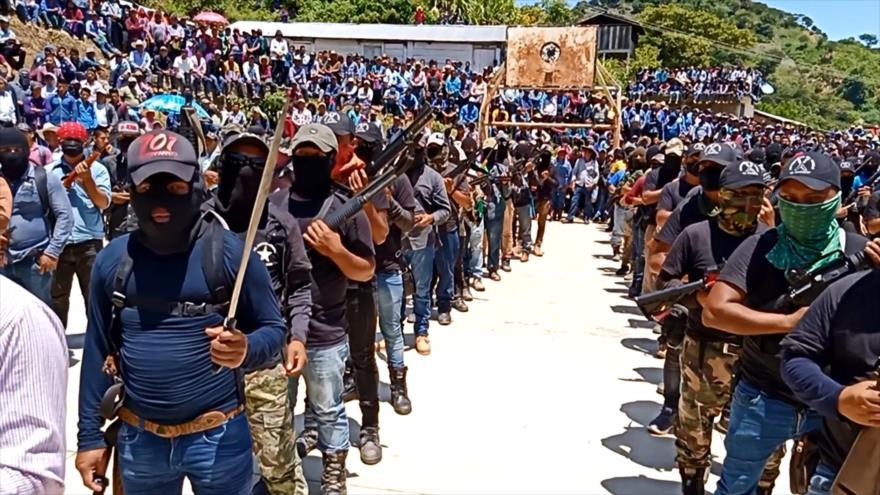 Surge grupo de autodefensa para detener la violencia en Chiapas