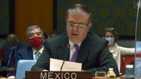 México insiste en el fin del bloqueo de EEUU contra Cuba