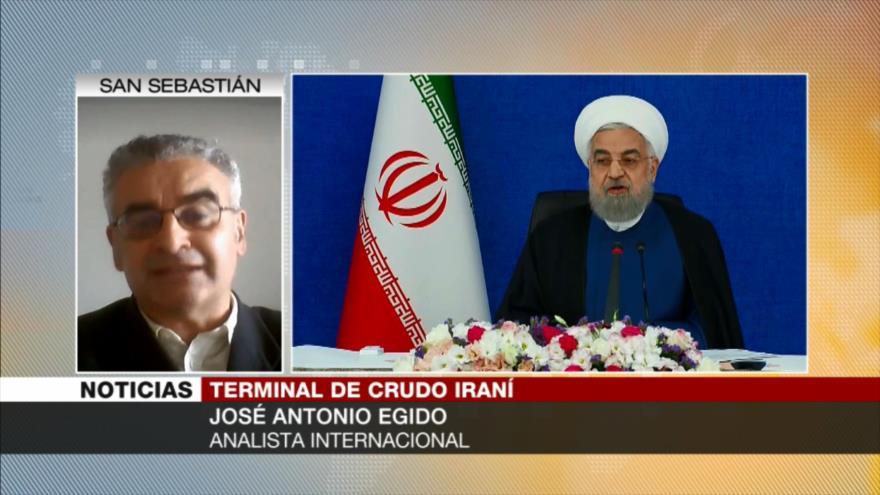 'Nueva terminal petrolera iraní frustra sanciones del Occidente'