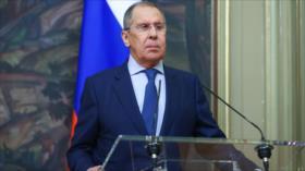 Lavrov: Occidente busca cinturón de inestabilidad en torno a Rusia