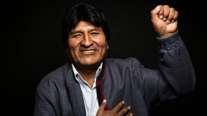 El expresidente de Bolivia, Evo Morales, durante una entrevista. (Foto: The New York Tiems)