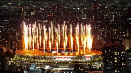 Comienza la ceremonia de apertura de los Juegos Olímpicos-2020