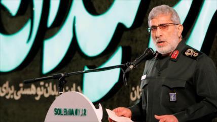Funcionario palestino alaba la valentía del sucesor de Soleimani