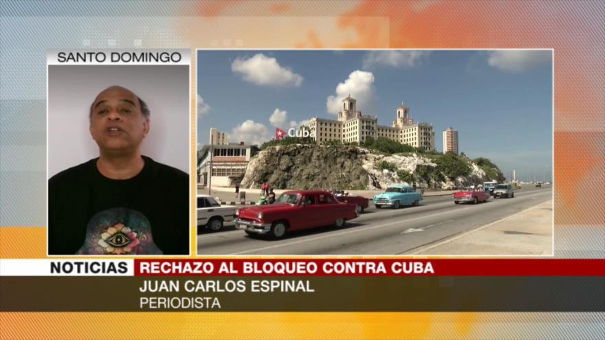 Espinal: El respaldo mundial a Cuba arriesga la hegemonía de EEUU