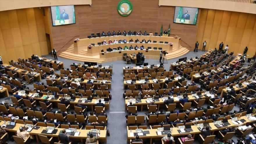 Una cumbre de la Unión Africana (UA).