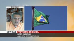 Almeida: Brasil camina sobre un impasse muy explosivo