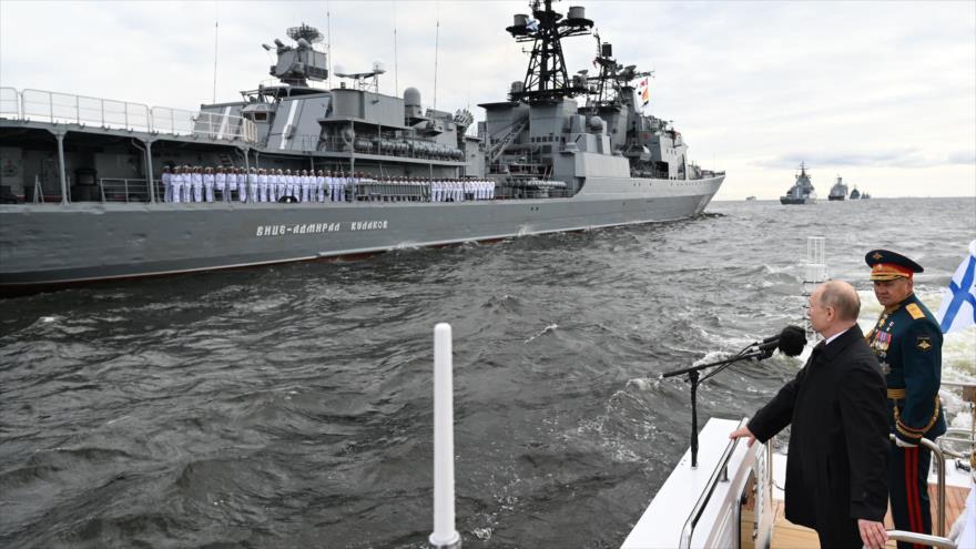 Putin: Rusia puede detectar y golpear cualquier objetivo enemigo