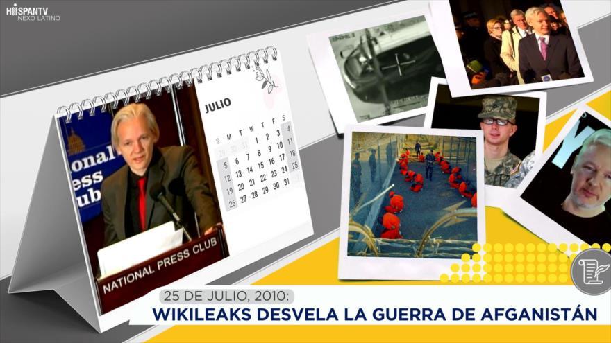 Esta semana en la historia: WikiLeaks desvela la guerra de Afganistán