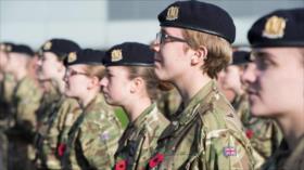 La mitad de mujeres soldado británicas, víctimas de acoso sexual