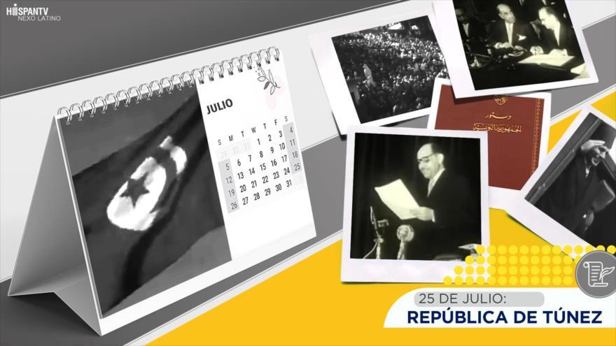 Esta semana en la historia: República de Túnez