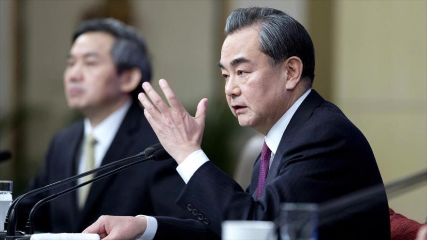 El ministro chino de Asuntos Exteriores, Wang Yi.