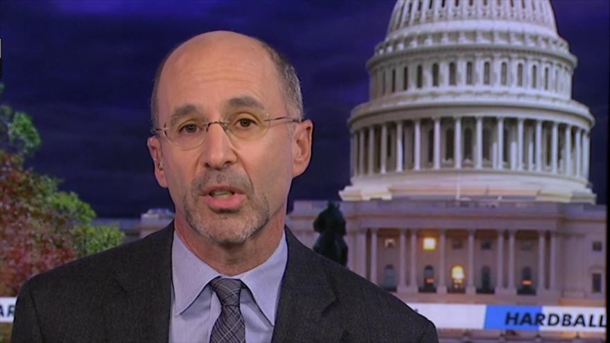 El enviado especial de Estados Unidos para Irán, Robert Malley, en un programa en la cadena MSNBS, 18 de julio de 2020.