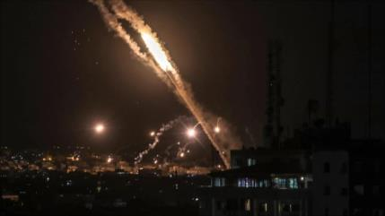 Listo para guerra, HAMAS derriba un dron israelí en Gaza