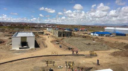 Rusia retoma obras de construcción de reactor nuclear en Bolivia