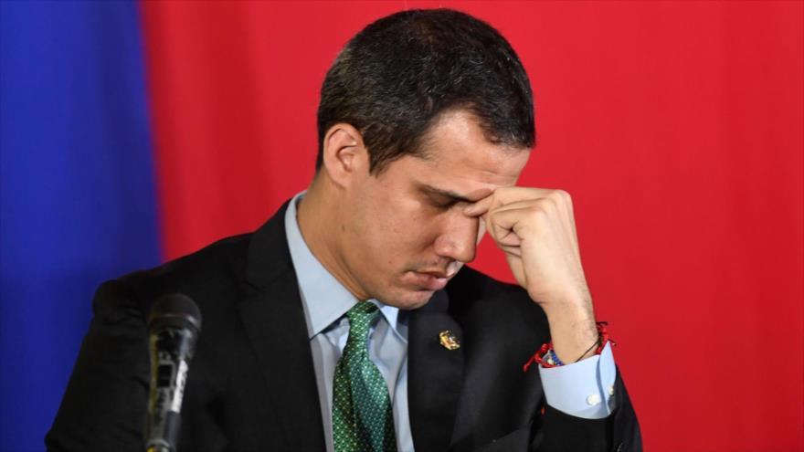 El autoproclamado presidente interino de Venezuela, Juan Guaidó.