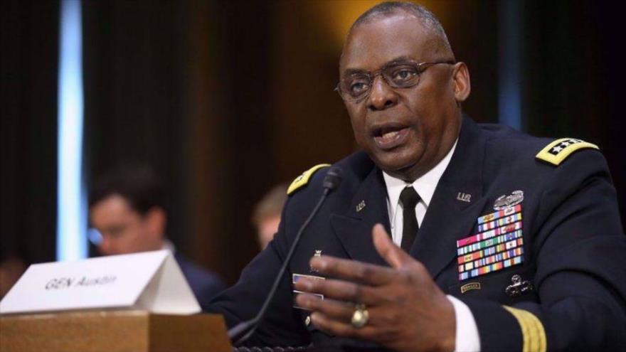 El secretario de Defensa de EE.UU., Lloyd Austin.