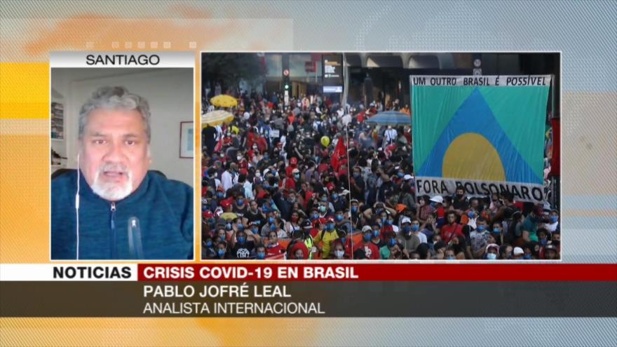 Jofré Leal: Bolsonaro representa la expresión máxima de ineficiencia