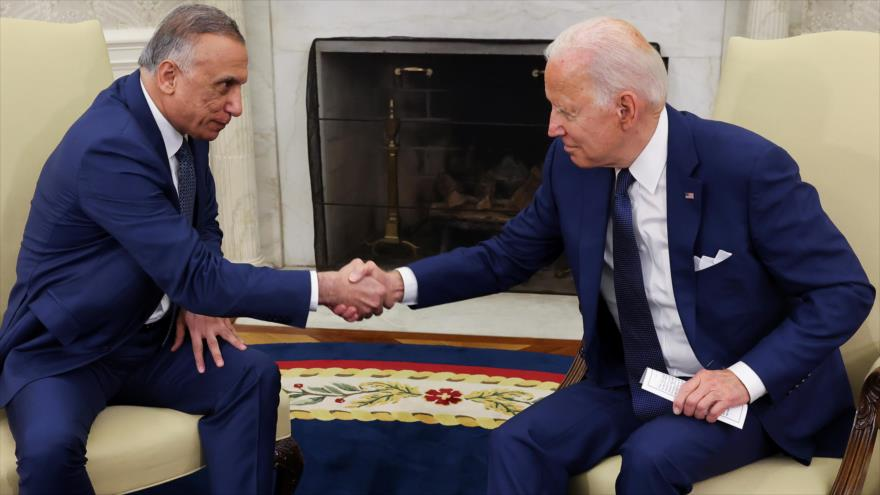 """Biden anuncia fin de """"misión de combate"""" en Irak, ¿dejarán el país?"""