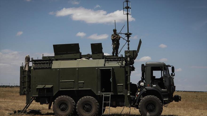 Sistema de guerra electrónica ruso Tirada-2.