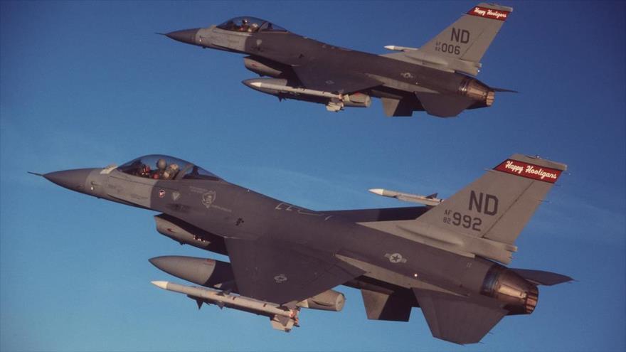 "Hezbolá Al-Nuyaba: Fuerza Aérea ""criminal"" de EEUU debe abandonar Irak"