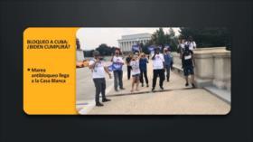 PoliMedios: Bloqueo a Cuba: ¿Biden cumplirá?