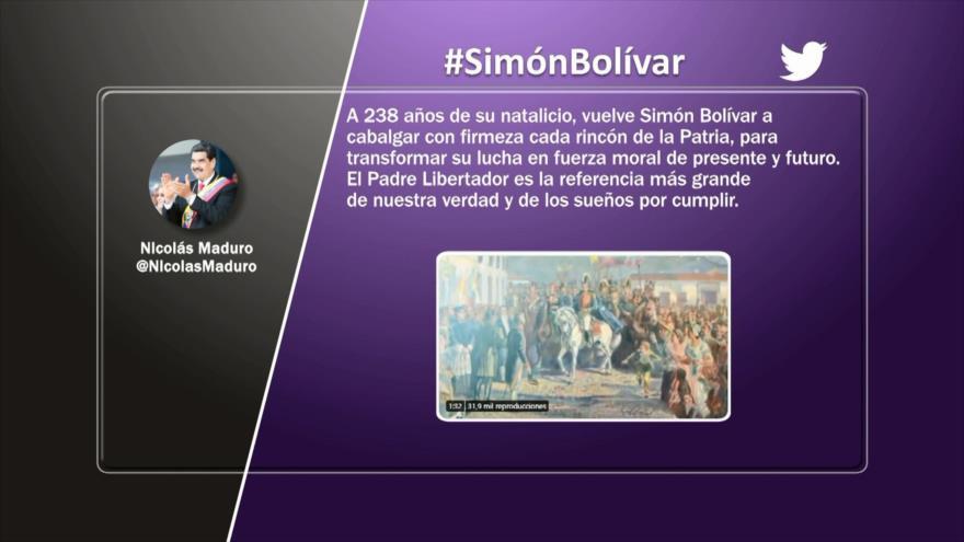 Etiquetaje: Una América Latina unida, el sueño de Simón Bolívar