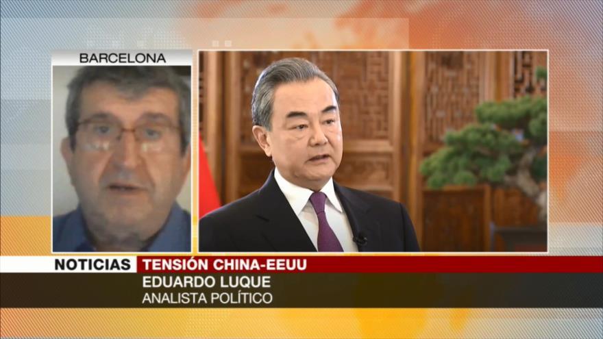 Luque: EEUU no puede aceptar a China como su rival militar