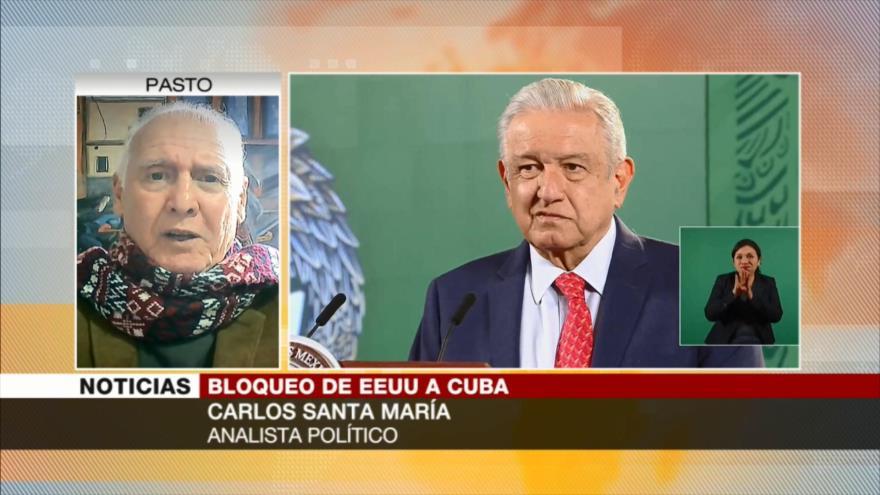 Santa María: Apoyo de AMLO a Cuba marca la valentía de México