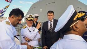 Presencia de Irán en desfile naval ruso envió mensaje de autoridad