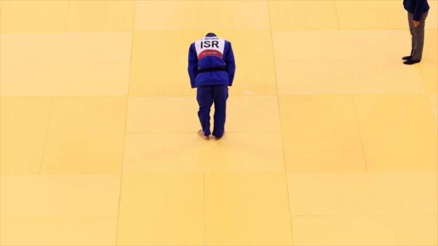 Un judoka israelí.