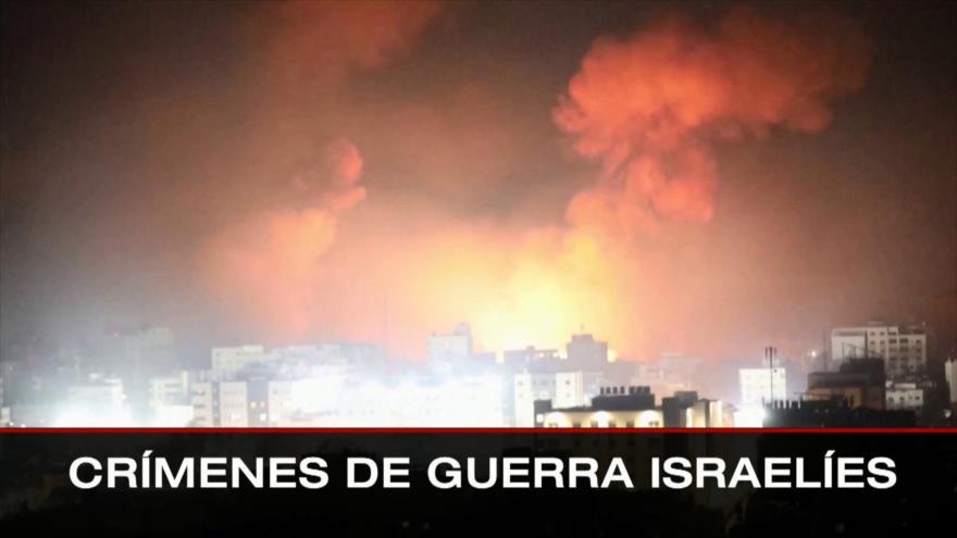 Crímenes de guerra israelíes. Acciones injerencistas de OEA. Críticas a Bolsonaro- Boletín: 01:30 – 28/07/2021