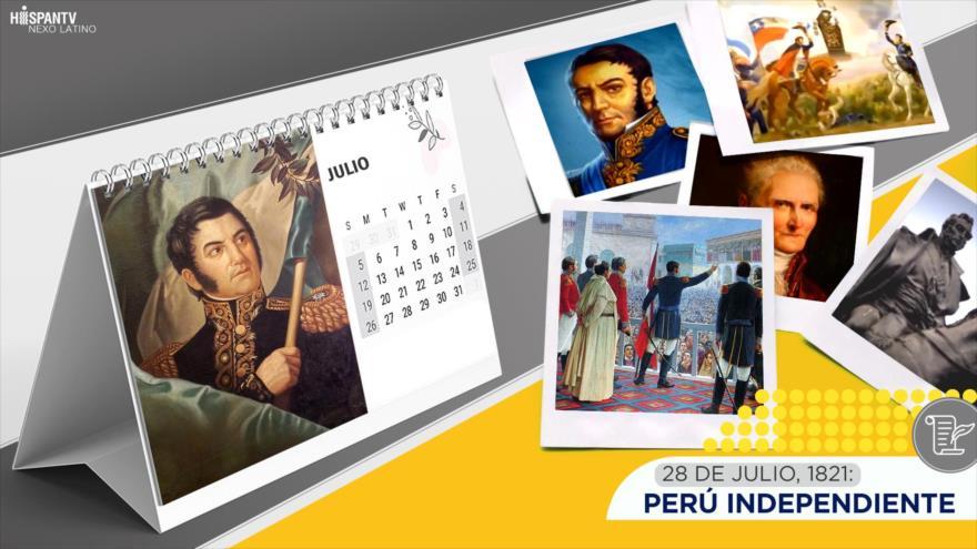 Esta semana en la historia: Perú Independiente