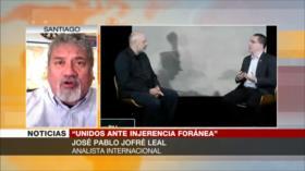 Jofré Leal: Una América Latina desunida es coto de caza de EEUU