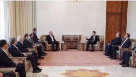 Bashar al-Asad elogia a Irán como 'socio clave' de Siria