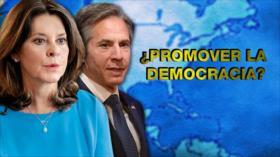 Detrás de la Razón: EEUU y Colombia ¿promotores de democracias?