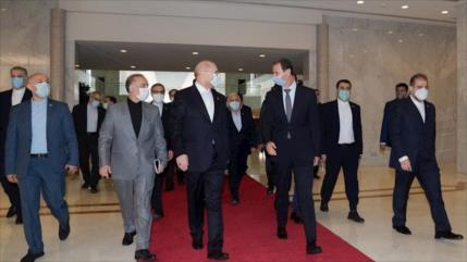 Continúa la coordinación entre Irán y Siria en todos los ámbitos