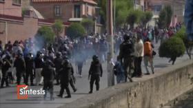 """Síntesis: """"Golpe planificado"""" en Bolivia"""