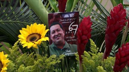 Recuerdan a Chávez en 67.º aniversario de su natalicio en Venezuela