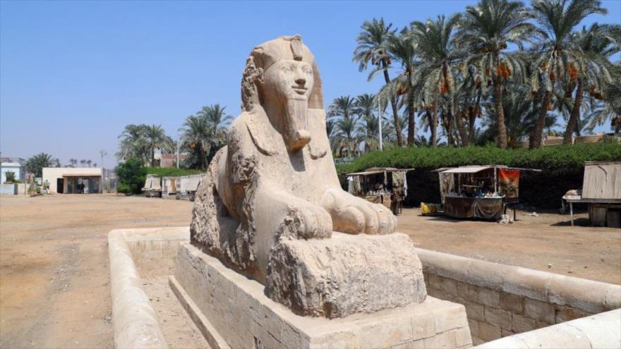 Fotos: Así quedan las ruinas de la antigua ciudad egipcia de Menfis