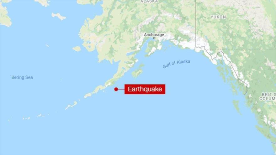 Alerta de tsunami en EEUU tras un fuerte terremoto en Alaska
