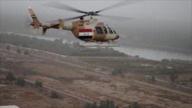 Estallido de helicóptero militar deja al menos cinco muertos en Irak