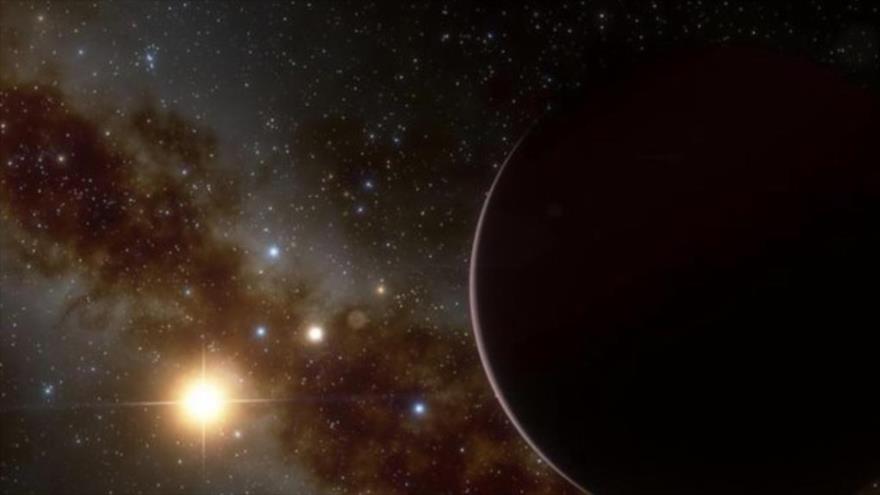 Científicos descubren un exoplaneta conocido como Nu2 Lupi d.