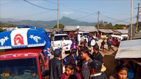 Desplazados indígenas regresan a sus hogares en Chiapas