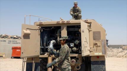 "Hezbolá iraquí promete expulsar a tropas de EEUU ""en humillación"""